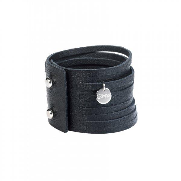 Dripy Top Armband schwarz