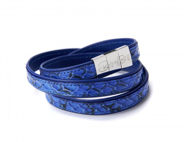 Crosby Exklusiv Armband blau