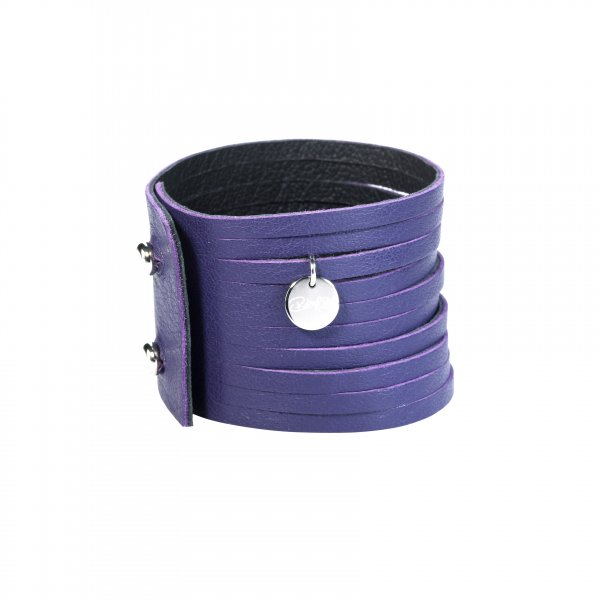 Dripy Top Armband lila