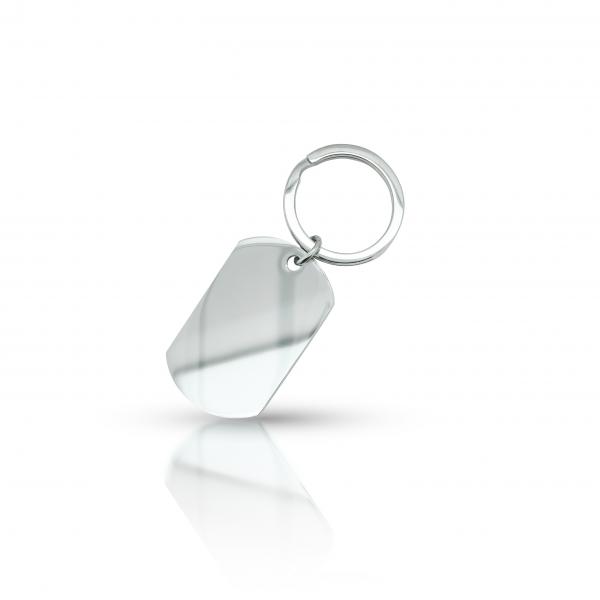 Schlüsselanhänger ovales Rechteck