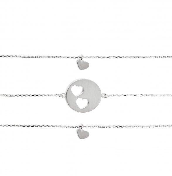 Carry Set Armband-Set 2 Silber