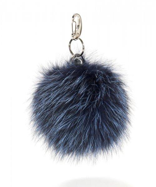 Kirkby Schlüsselanhänger blau/schwarz