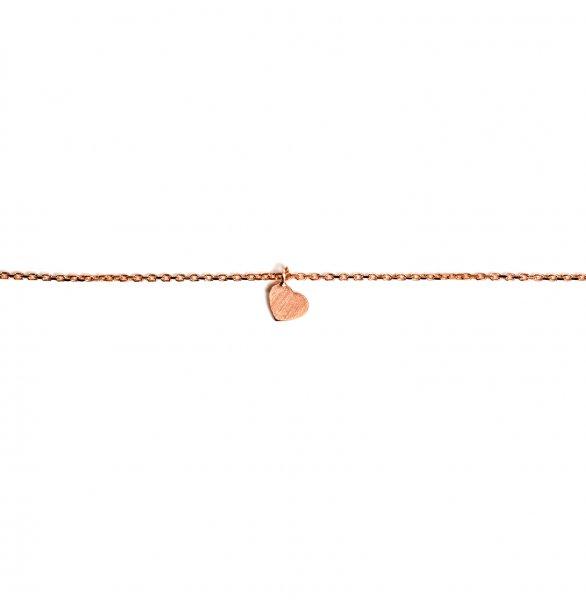 Carry Heart Armband Rosé