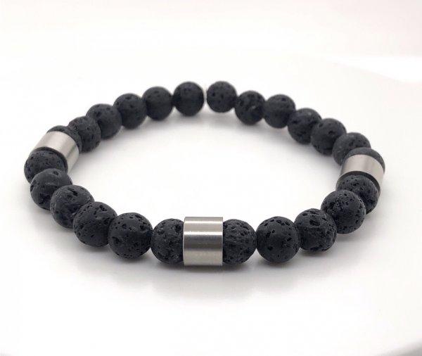 Lava Armband, gravierbar