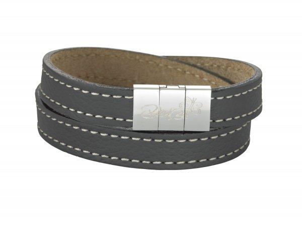 Leeds Armband grau