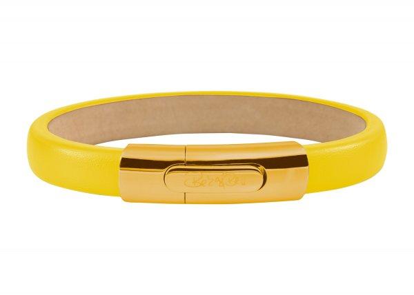 York Armband gelb, vergoldet