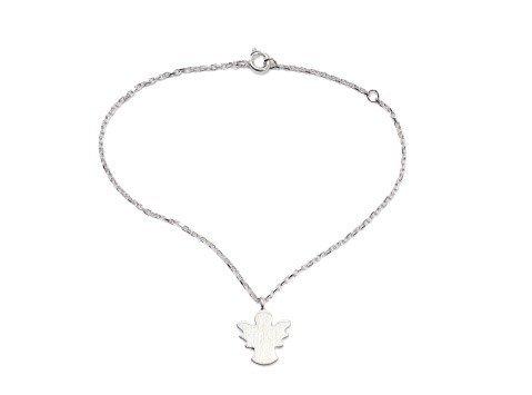 Carry Schutzengel Armband Anhänger Silber
