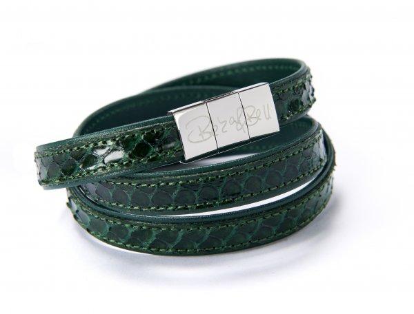 Crosby Exklusiv Armband grün