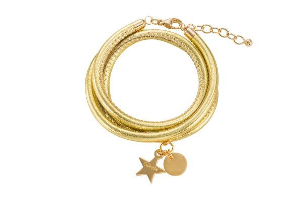 Hollywood Armband gold, vergoldet