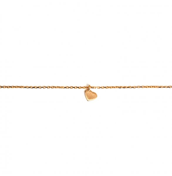 Carry Heart Armband Gold vergoldet