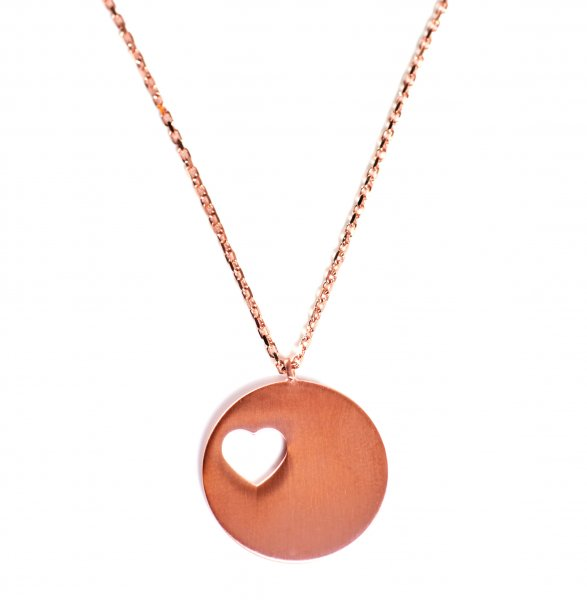 Carry Collier 1 Gold rosé vergoldet