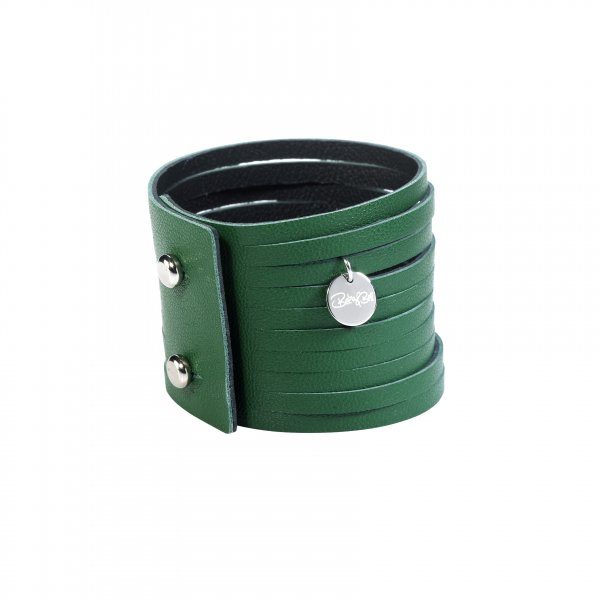Dripy Top Armband grün