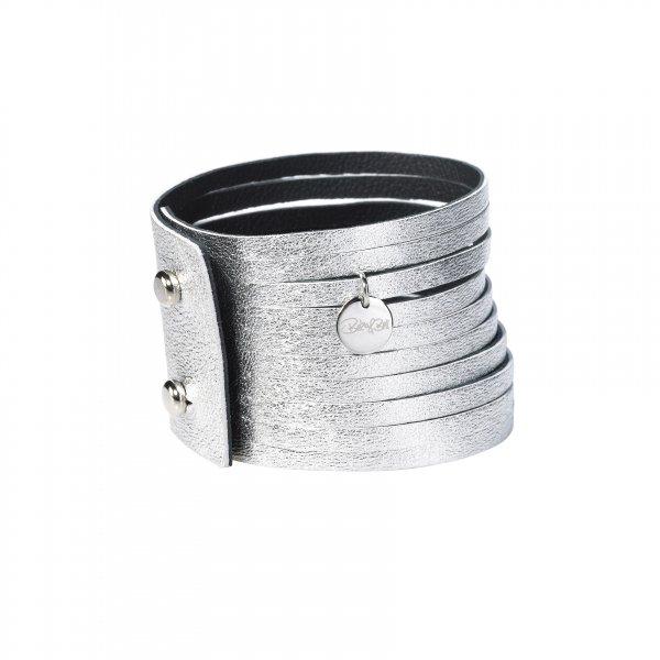 Dripy Top Armband silber