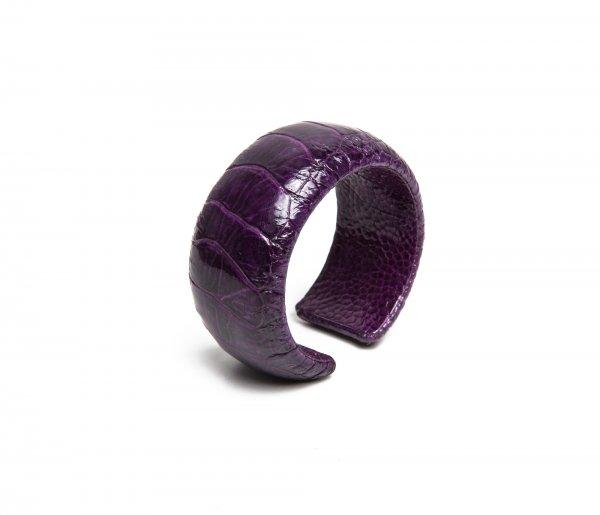 Straußarmspange Lavender