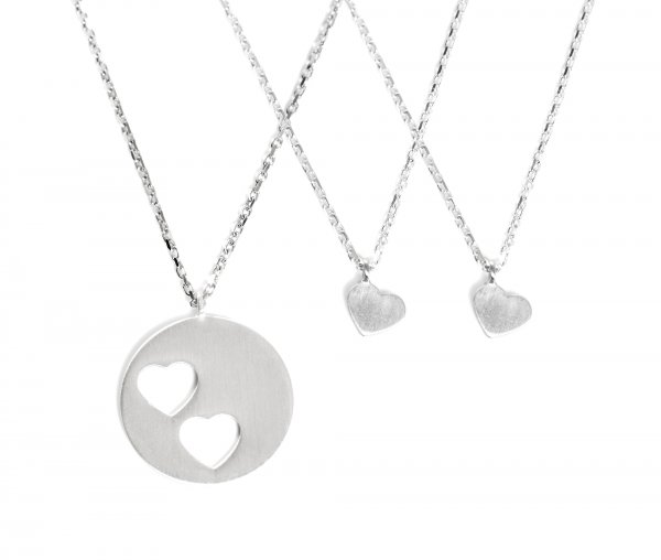 Carry Set Collier-Set 2 Silber