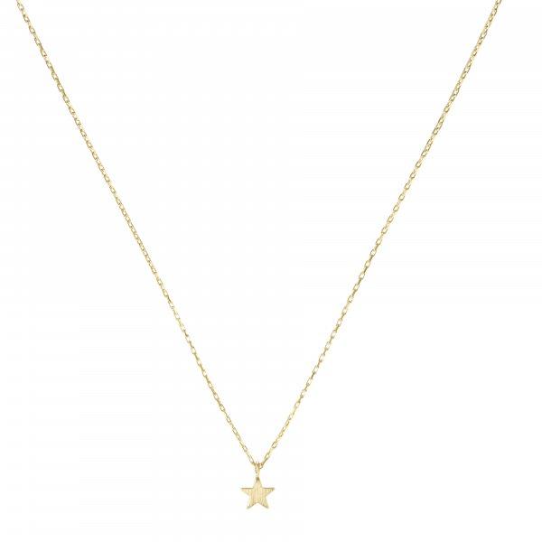 Carry Stern Kette Gold vergoldet