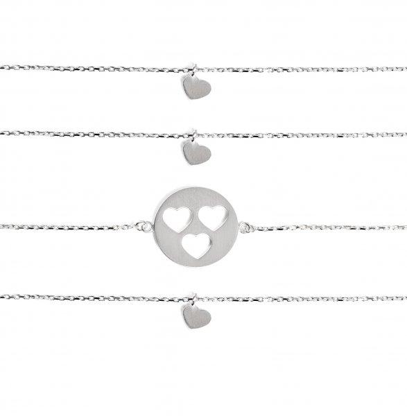 Carry Set Armband-Set 3 Silber