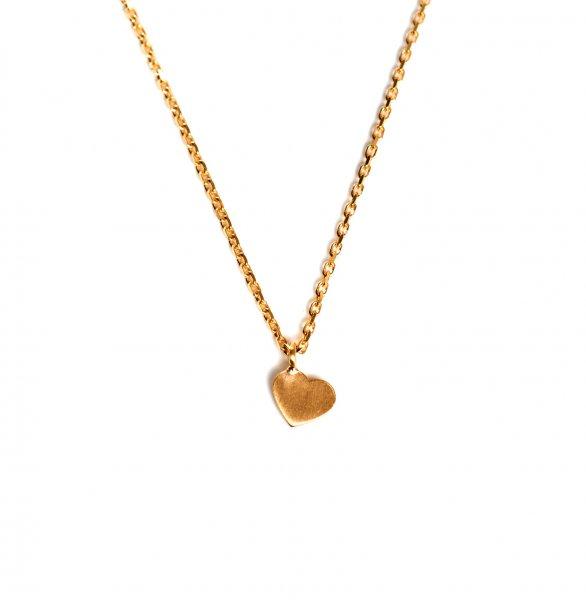 Carry heart Kette Gold vergoldet