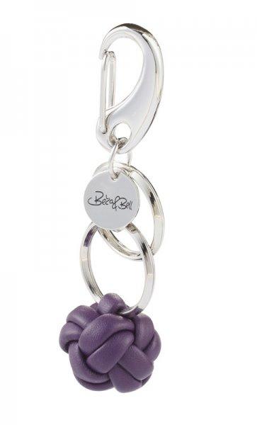 Newcastle Schlüsselanhänger lila