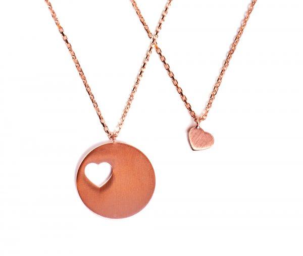 Carry Set Collier-Set 1 Rosé vergoldet