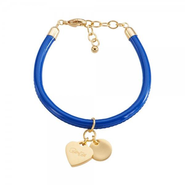 Cannock Armband blau, vergoldet
