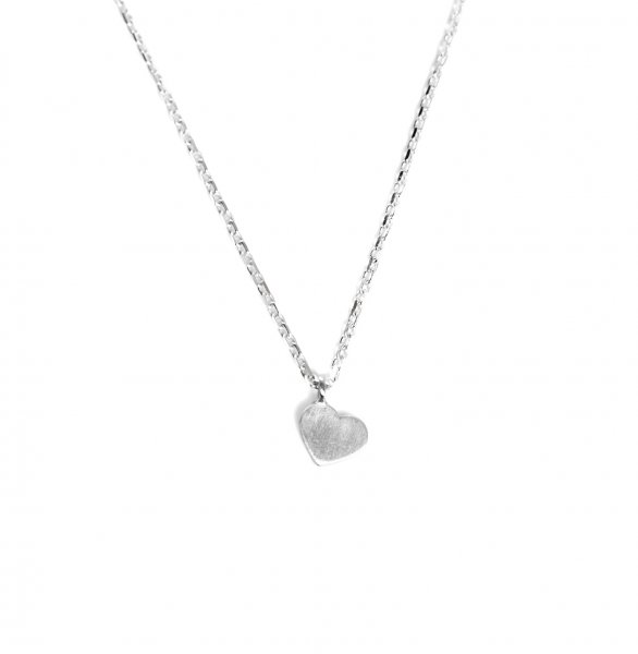 Carry heart Kette Silber