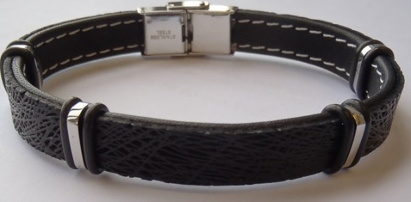 Clochard Fashion Herrenarmband schwarz