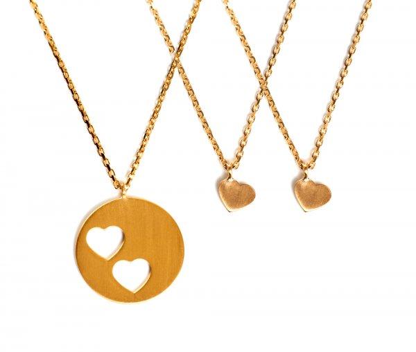 Carry Set Collier-Set 2 Gold vergoldet