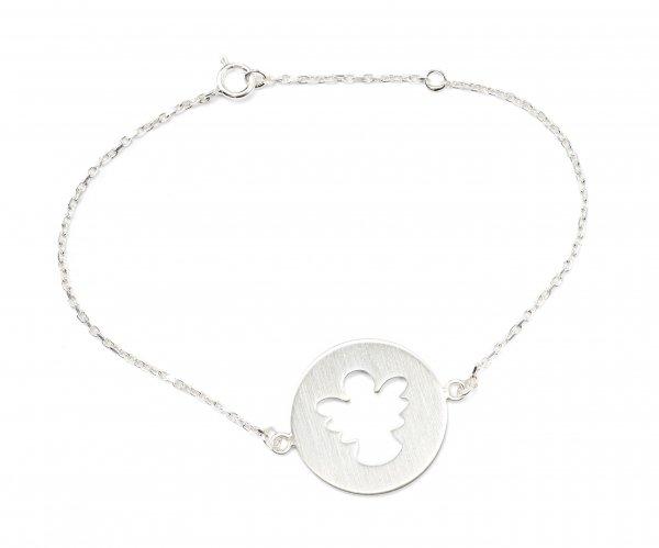 Carry Schutzengel Armband Silber