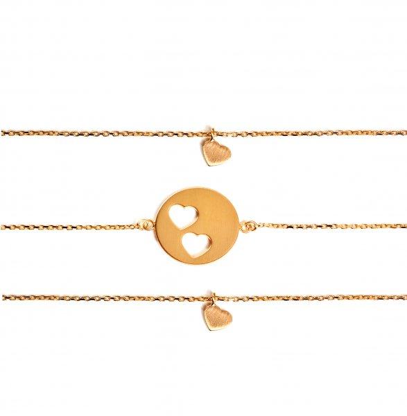 Carry Set Armband-Set 2 Gold vergoldet
