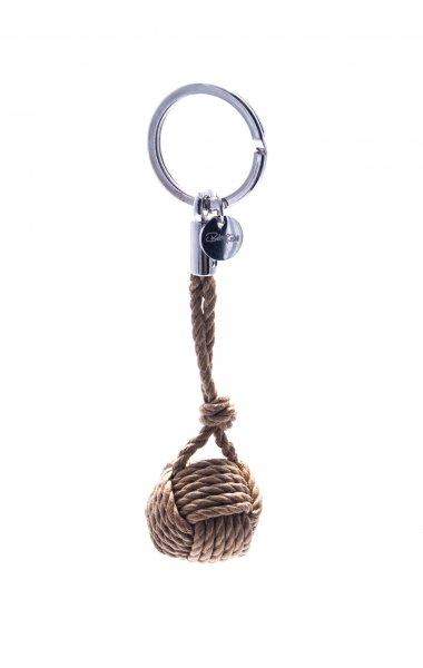 Marina Schlüsselanhänger Tau beige