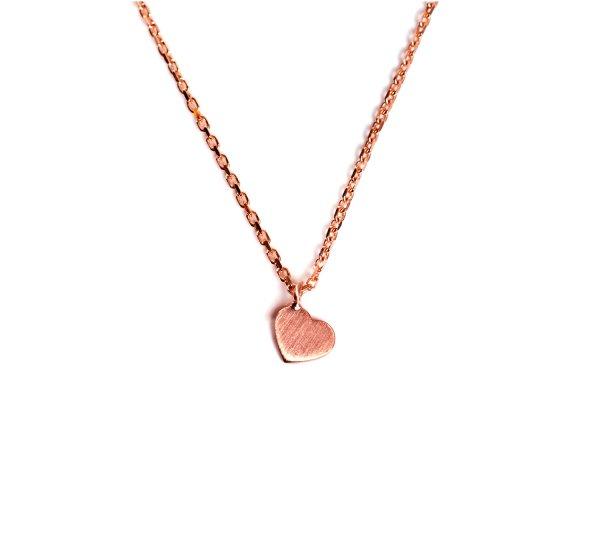 Carry heart Kette Rosé